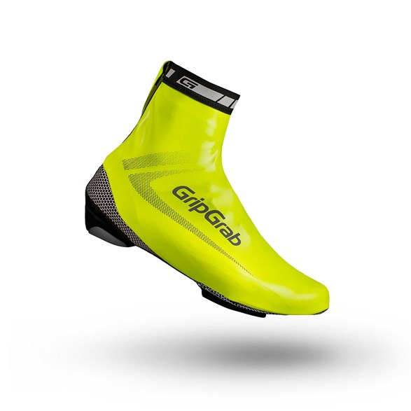 Gripgrab Raceaqua Hi-Vis Waterproof Shoe Cover