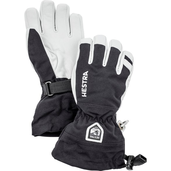 Army Leather Heli Ski Jr 5 Finger