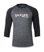 Dakine Roots Raglan Loose Fit 3/4 Sleeve (Black)