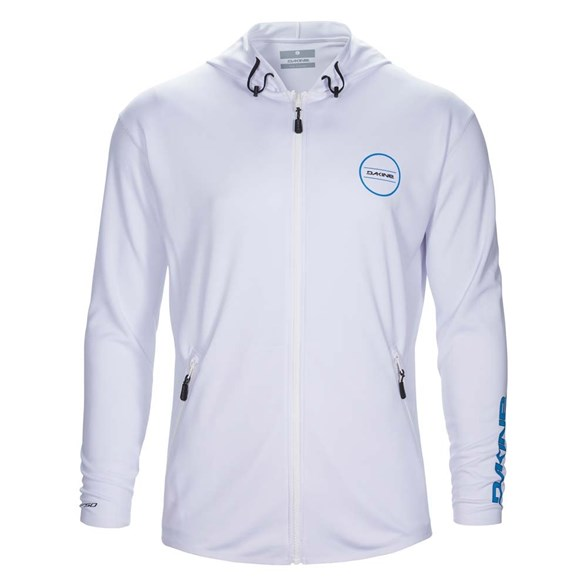 Inlet Loose Fit Front Zip (White)