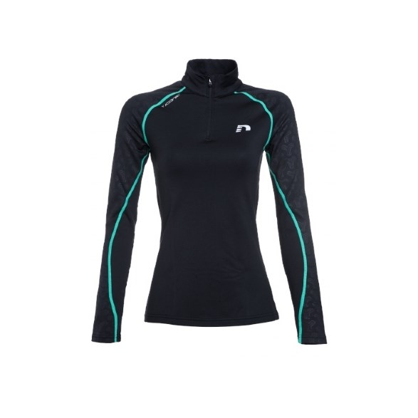 W Iconic Thermal Shirt Blk/Tur
